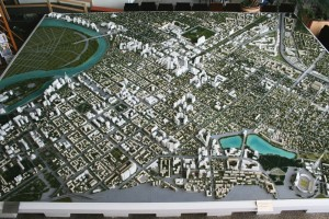 Реконструкция центральной части Краснодара, макет