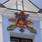 Деталь фасада Михайловского Златоверхого собора.